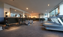 Gym at Clayton Hotel Cambridge1744