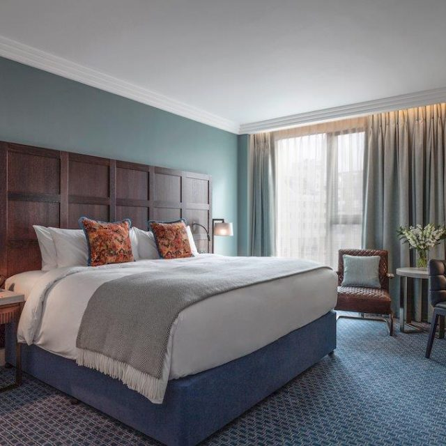Deluxe double room at clayton hotel cambridge