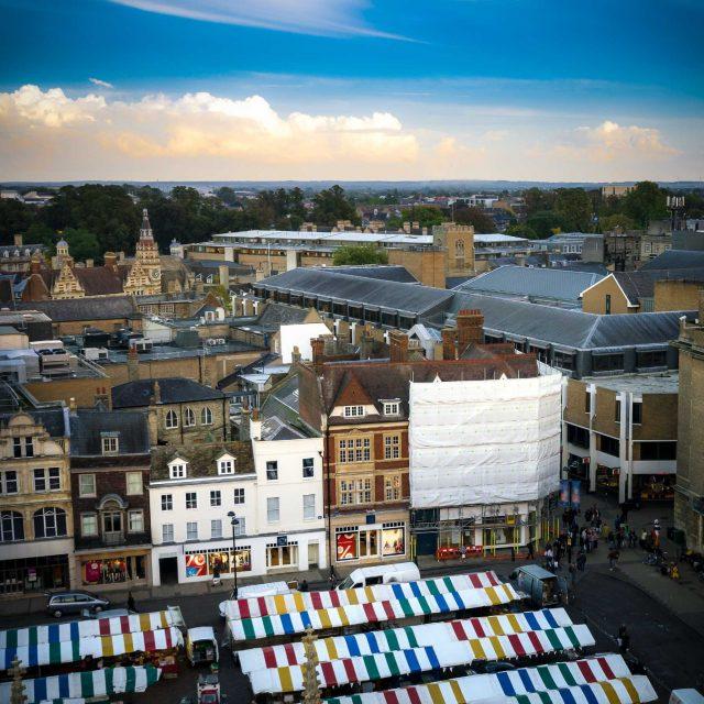 hotel in cambridge city centre